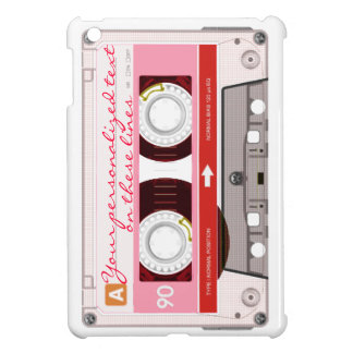 Cassette tape - red - cover for the iPad mini