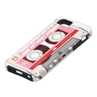 Cassette tape - red - iPhone SE/5/5s case