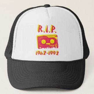 Cassette tape. RIP 1962-1992 Trucker Hat