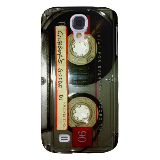 Cassette Tape Samsung Galaxy S4 Case