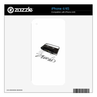 Cassette Tape iPhone 4S Skins