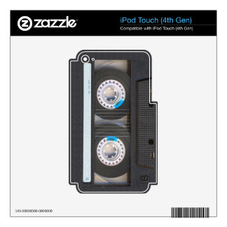 Cassette Tape iPod Touch 4G Skins