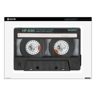 "Cassette Tape 15"" Laptop Decal"