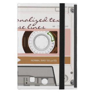 Cassette tape - tan - cover for iPad mini