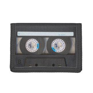 Cassette Tape Tri-fold Wallet