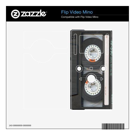 Cassette Tape Videocamera Skin Skins For Flip Mino
