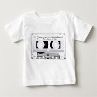 Cassette tape - white - baby T-Shirt