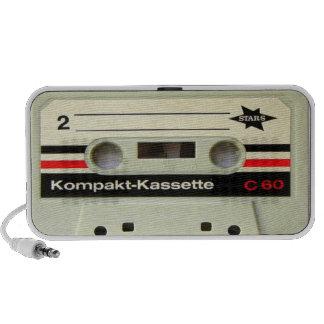 Cassette Tape White Doodle Speaker