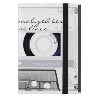 Cassette tape - white - case for iPad mini