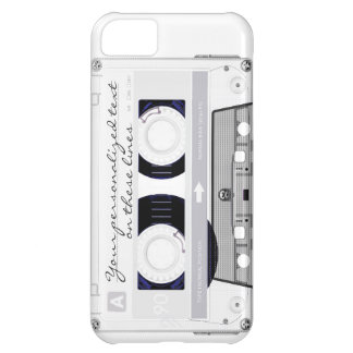 Cassette tape - white - iPhone 5C cover