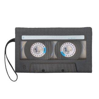 Cassette Tape Wristlet Purse