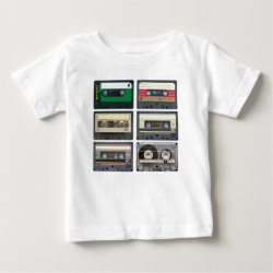 Cassette Tapes Baby T-Shirt