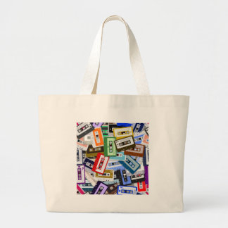 Cassette Tapes Canvas Bags