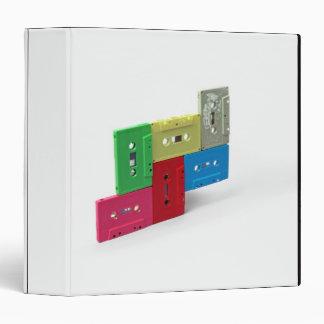Cassette Tapes Vinyl Binders
