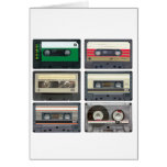 Cassette Tapes Card