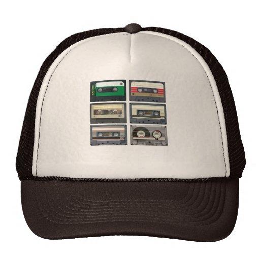 Cassette Tapes Mesh Hats