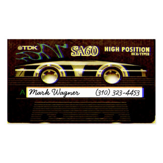 Cassette TDK Double-Sided Standard Business Cards (Pack Of 100)