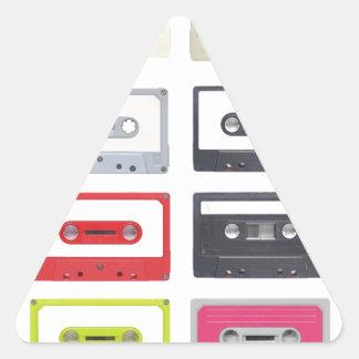 Cassette Triangle Sticker