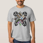 Cassettes And 45 RPM Adaptor Tshirts