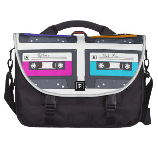 Cassettes are still cool commuter bag