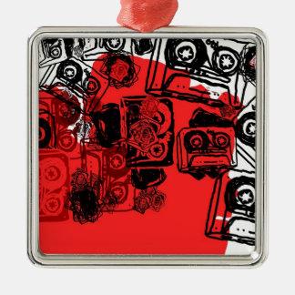 """Cassettes"" design made for true dreamers! Metal Ornament"