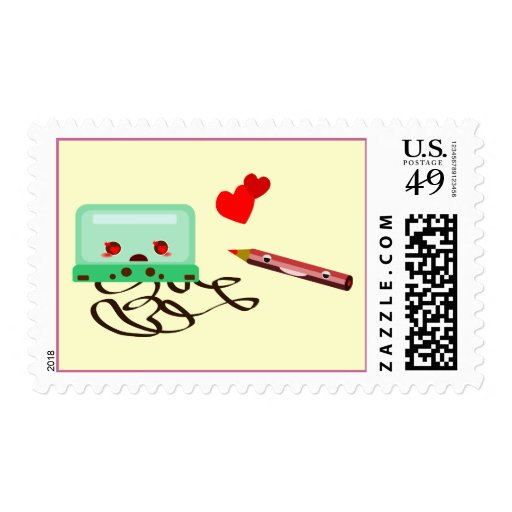 cassettes love postage