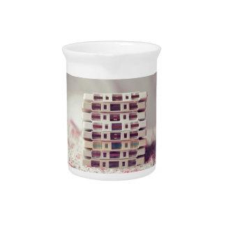 Cassettes Pattern Beverage Pitcher