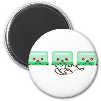 cassettes trouble 2 inch round magnet