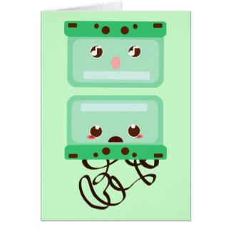 cassettes trouble card