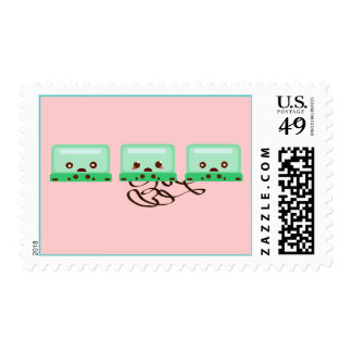 cassettes trouble postage stamps