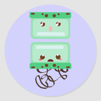 cassettes trouble stickers