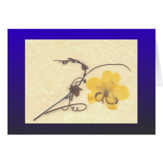 Cassia and Grape Card
