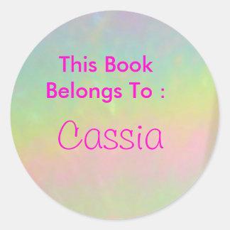 Cassia Classic Round Sticker