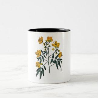 Cassia Corymbosa Two-Tone Coffee Mug