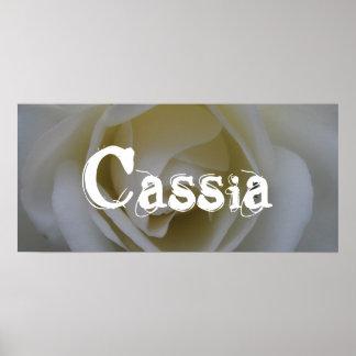 Cassia Poster