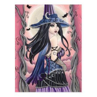 Cassia - Witch Postcard