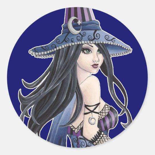 Cassia - Witch Sticker