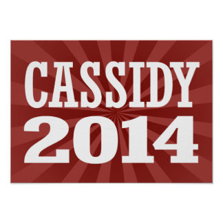 CASSIDY 2014 POSTER