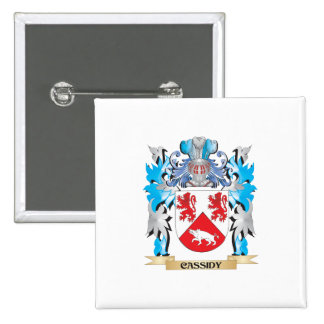 Cassidy Coat of Arms - Family Crest Pin