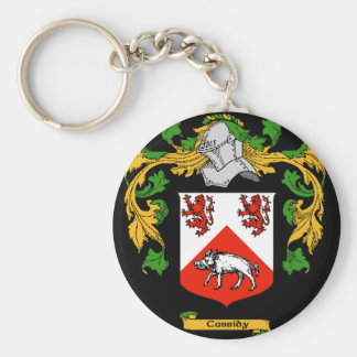Cassidy Coat Of Arms - Family Crest Keychain