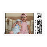 Cassidy & Joshua Srery October 2008 Postage Stamps