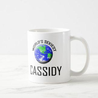 Cassidy más atractivo del mundo tazas de café