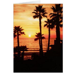 Cassidy Street Beach Sunset Greeting Card