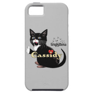 Cassidy TinyKittens iPhone SE/5/5s Case