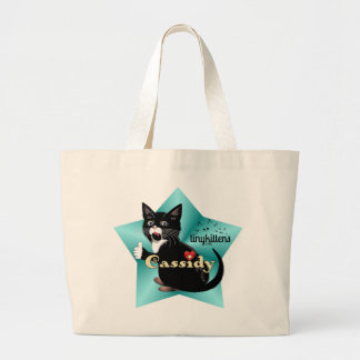 Cassidy TinyKittens Large Tote Bag