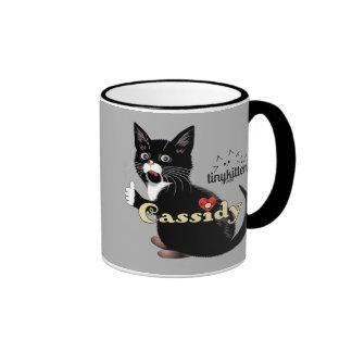 Cassidy TinyKittens Ringer Mug
