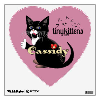 Cassidy TinyKittens Wall Decal