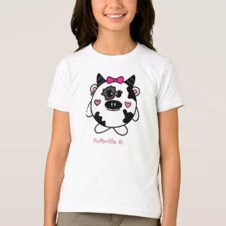 Cassie Cow Small Girls T-Shirt