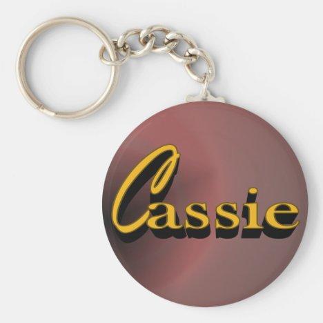 Cassie Keychain