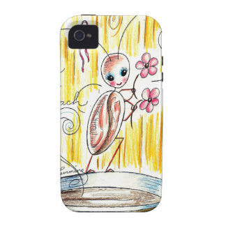 Cassie The Cute Cockroach iPhone 4/4S Cover